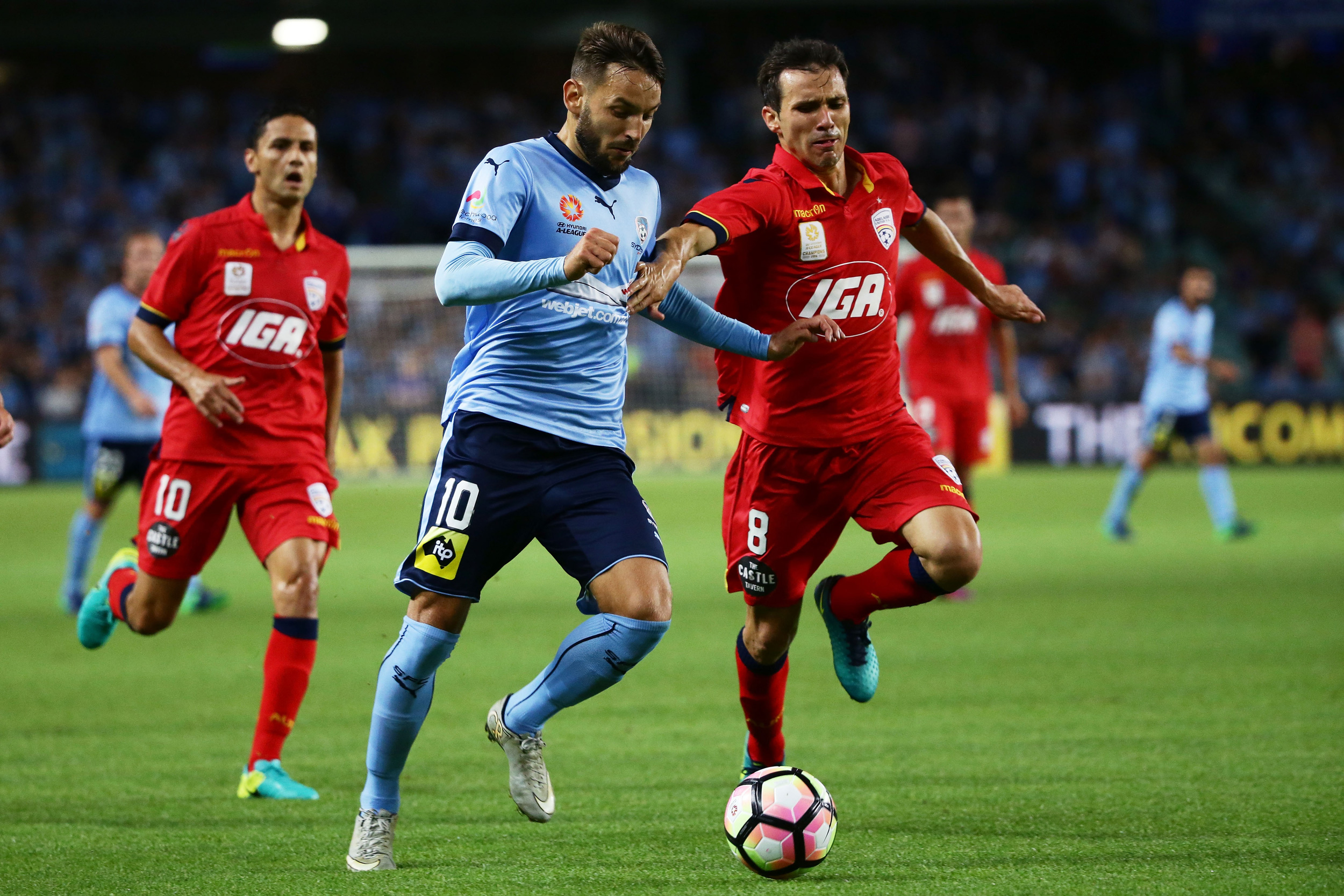 Sydney FC vs Adelaide United
